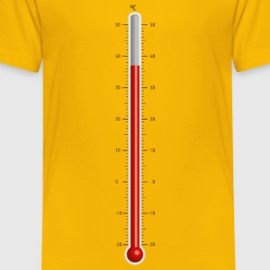 Celsius Thermometer - Toddler Premium T-Shirt