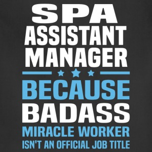 Spa Assistant Manager Tshirt - Adjustable Apron