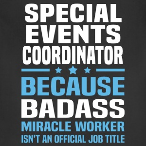 Special Events Coordinator Tshirt - Adjustable Apron
