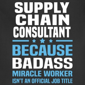 Supply Chain Consultant Tshirt - Adjustable Apron