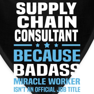 Supply Chain Consultant Tshirt - Bandana