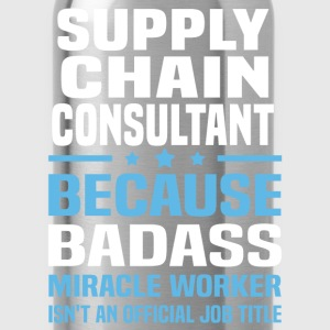 Supply Chain Consultant Tshirt - Water Bottle