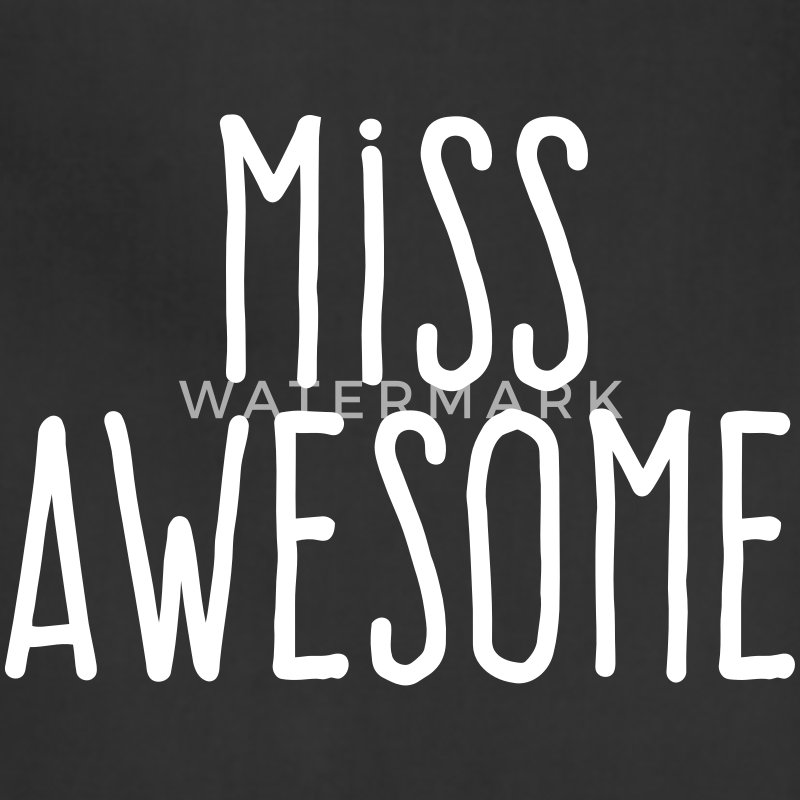 miss awesome Aprons - Adjustable Apron