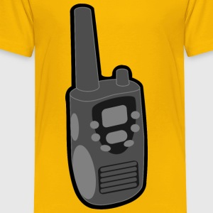 walkie talkie - Toddler Premium T-Shirt
