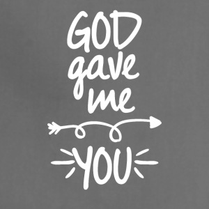 God gave me you (right arrow) - Adjustable Apron