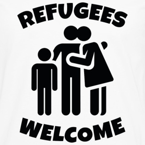 Refugees Welcome - Men's Premium Long Sleeve T-Shirt