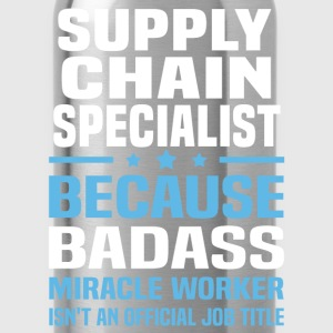 Supply Chain Specialist T-Shirts - Water Bottle
