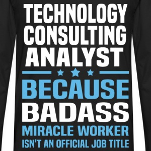 Technology Consulting Analyst T-Shirts - Men's Premium Long Sleeve T-Shirt