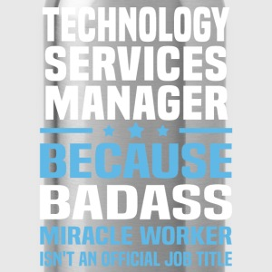 Technology Services Manager T-Shirts - Water Bottle