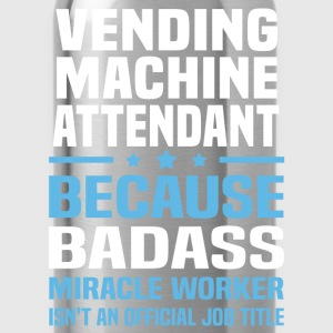 Vending Machine Attendant T-Shirts - Water Bottle