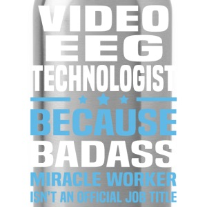 Video EEG Technologist T-Shirts - Water Bottle