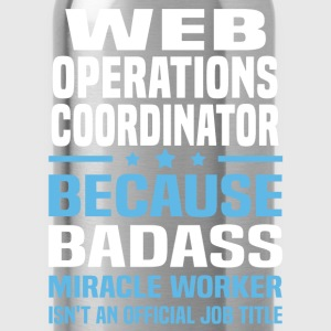 Web Operations Coordinator T-Shirts - Water Bottle