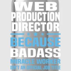 Web Production Director T-Shirts - Water Bottle