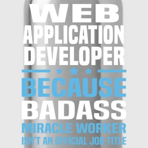 Web Application Developer T-Shirts - Water Bottle