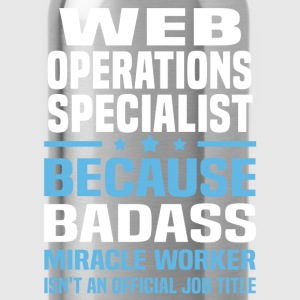 Web Operations Specialist T-Shirts - Water Bottle
