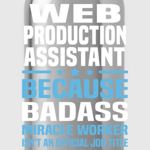 Web Production Assistant T-Shirts - Water Bottle