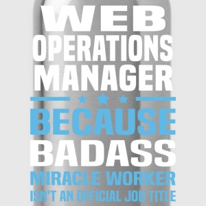 Web Operations Manager T-Shirts - Water Bottle