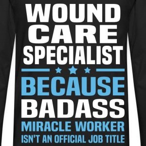 Wound Care Specialist T-Shirts - Men's Premium Long Sleeve T-Shirt