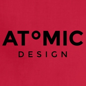 Atomic Design Brand Logo - Adjustable Apron