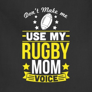 Rugby Mom Voice T-Shirt T-Shirts - Adjustable Apron