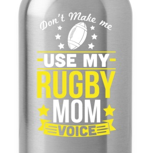 Rugby Mom Voice T-Shirt T-Shirts - Water Bottle