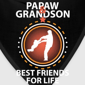 Papaw And Grandson Best Friends For Life T-Shirts - Bandana