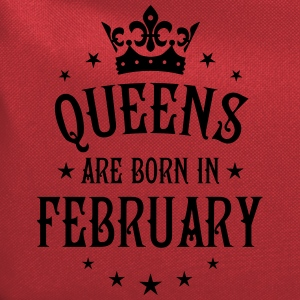 Queens are born in February birthday Crown Shirt - Computer Backpack