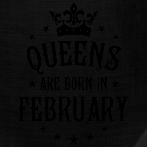 Queens are born in February birthday Crown Shirt - Bandana