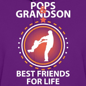 Pops And Grandson Best Friends For Life T-Shirts - Women's Hoodie
