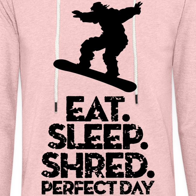 Snowboarder Eat Sleep Shred