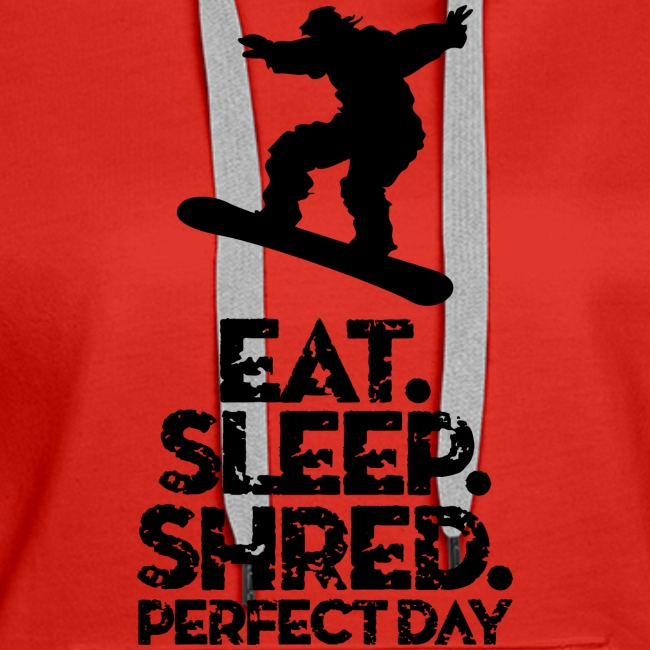 Snowboarder Eat Sleep Shred