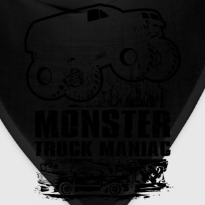 Monster Truck Maniac T-Shirts - Bandana