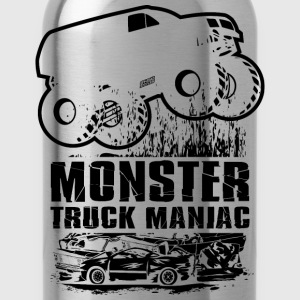 Monster Truck Maniac T-Shirts - Water Bottle