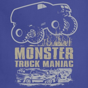 Monster Truck Maniac T-Shirts - Adjustable Apron