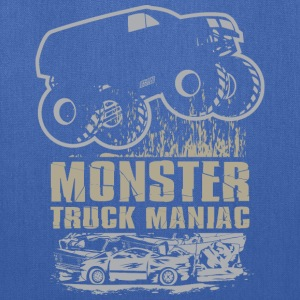 Monster Truck Maniac T-Shirts - Tote Bag