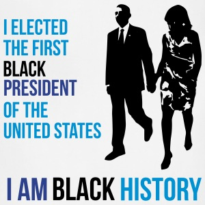 I Am Black History - Presidential Edition T-Shirts - Adjustable Apron