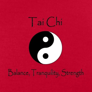 Women's Tai Chi - Balance, Tranquility, Strength - Men's T-Shirt by American Apparel