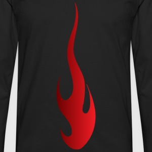 Fire - Men's Premium Long Sleeve T-Shirt