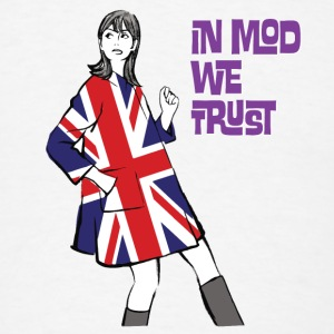 In Mod We Trust Buttons - Men's T-Shirt