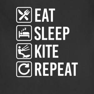 Kite Surfing Eat Sleep Repeat T-Shirt T-Shirts - Adjustable Apron