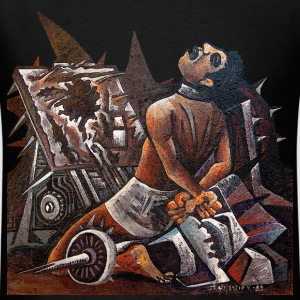 Prehispanic Torture Art - Men's T-Shirt