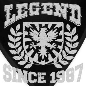 LEGENDS  87 JDSHDJD.png T-Shirts - Bandana