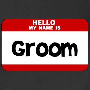 Hello My Name Is Groom T-Shirts - Adjustable Apron