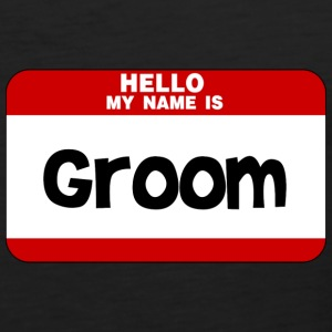 Hello My Name Is Groom T-Shirts - Men's Premium Tank