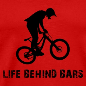 life behind bars Caps - Men's Premium T-Shirt