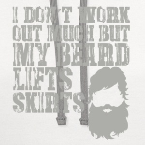 MY BEARD LIFTS SKIRTS T-Shirts - Contrast Hoodie