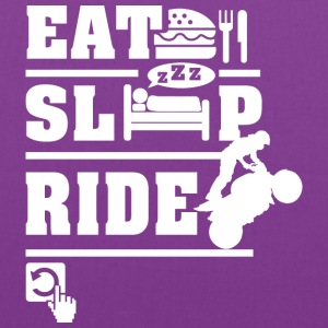 Eat Sleep Ride Hoodies - Tote Bag