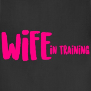 WIFE in training T-Shirts - Adjustable Apron