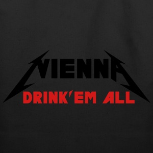 VIENNA DRINK EM ALL T-Shirts - Eco-Friendly Cotton Tote