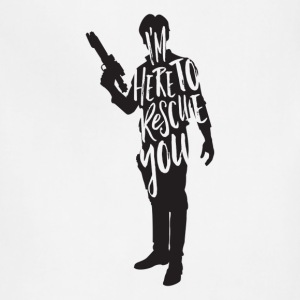 Han Solo quote t shirt design JLane Design Teepubl - Adjustable Apron